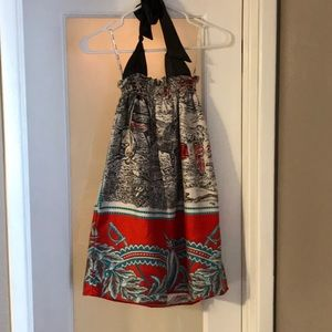 Beautiful silk rare Voom by joy han Dress - small
